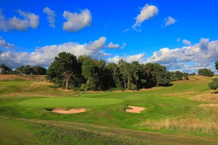 Delamere Forest Golf Club hole 18